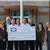 check presentation from Centennial Bank representatives