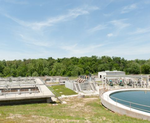 Waste Water Treatment Plant Holding Tanks