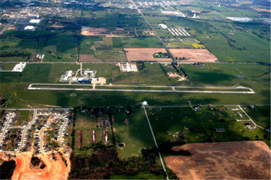 Aerial Photo of Airport