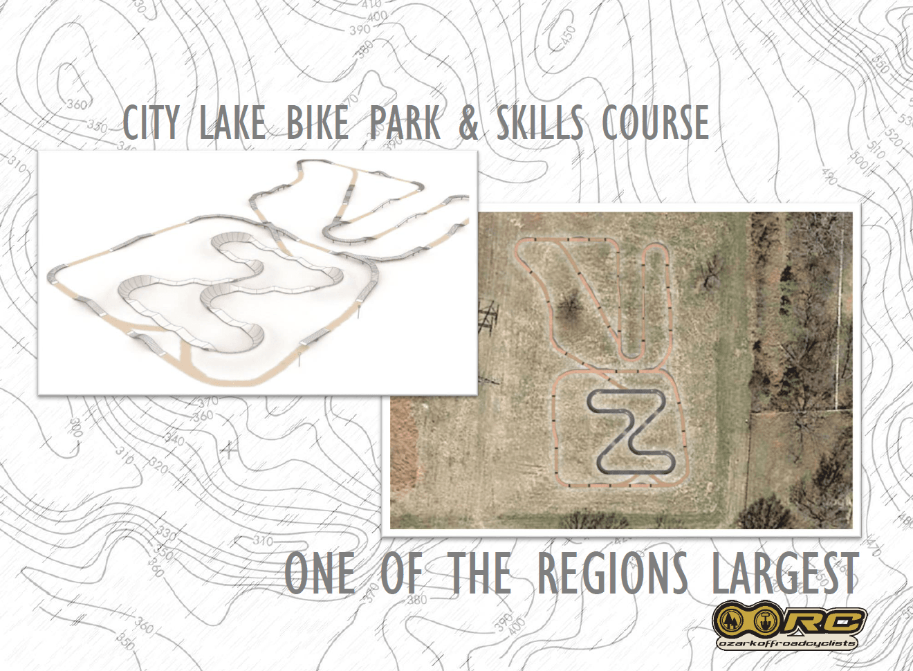 City Lake bike park and skills course