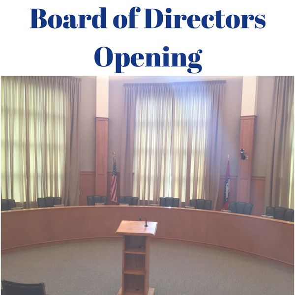 Board of Directors Opening