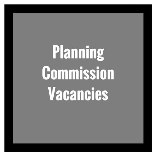 Planning Commission Vacancies