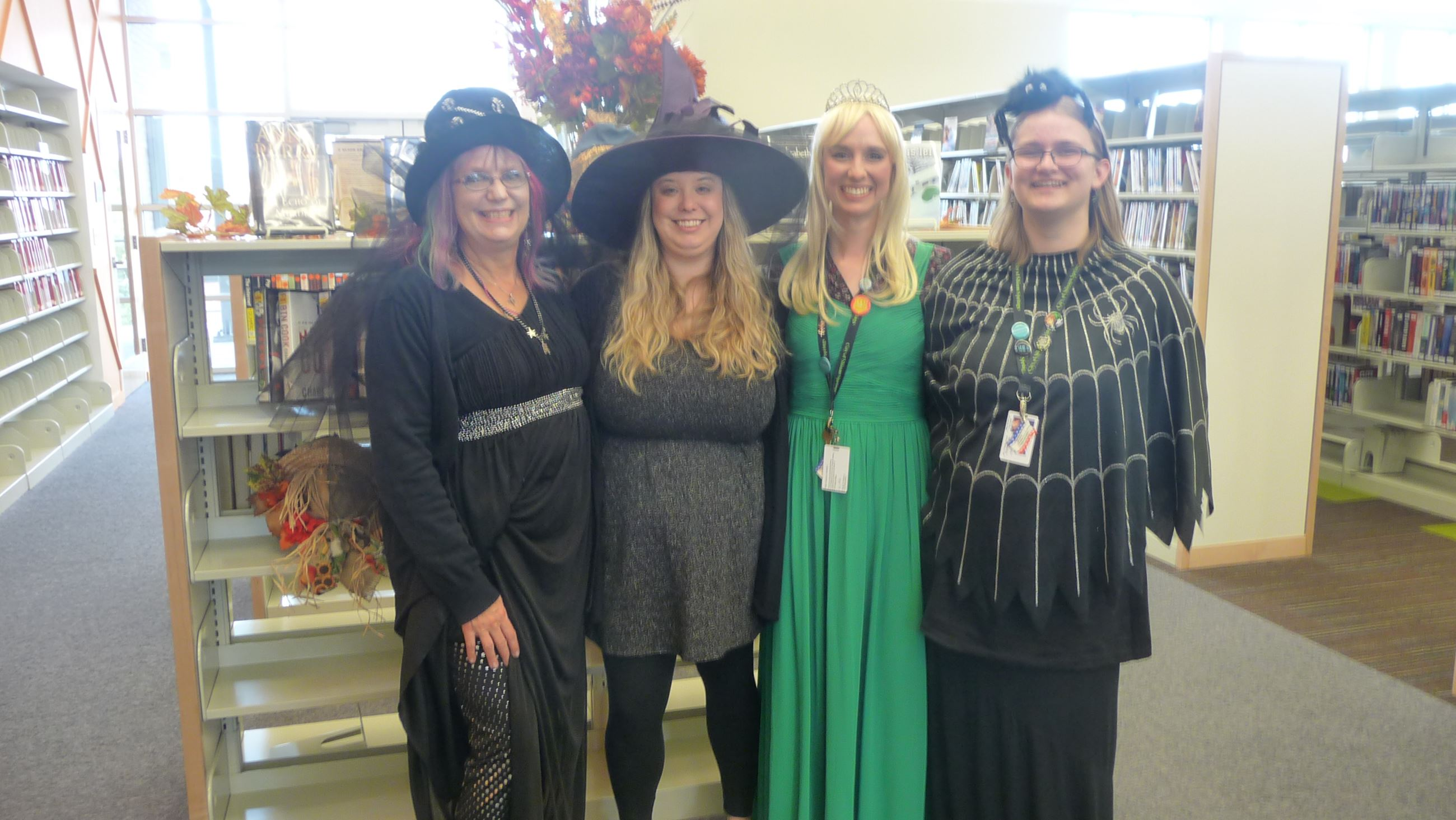 Staff in costume