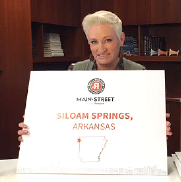 Siloam Springs chosen in top ten for Hulu show about downtowns