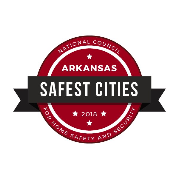 Arkansas Safest Cities Logo