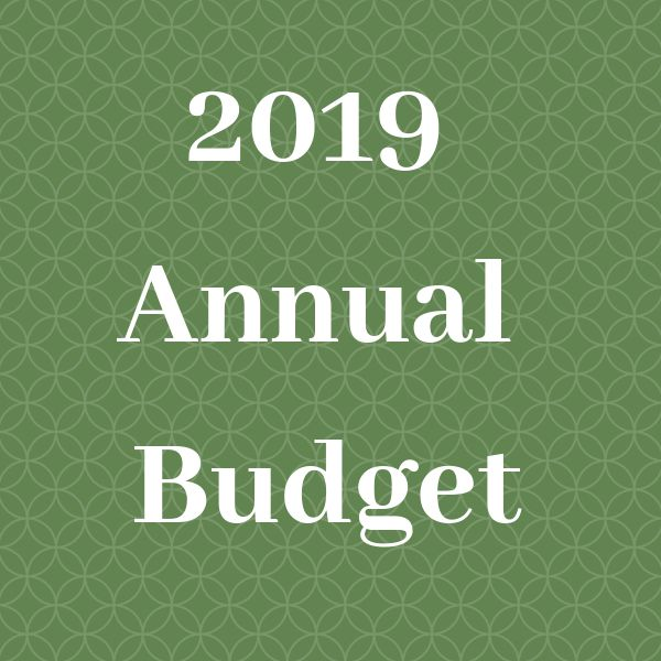 2019 Annual Budget