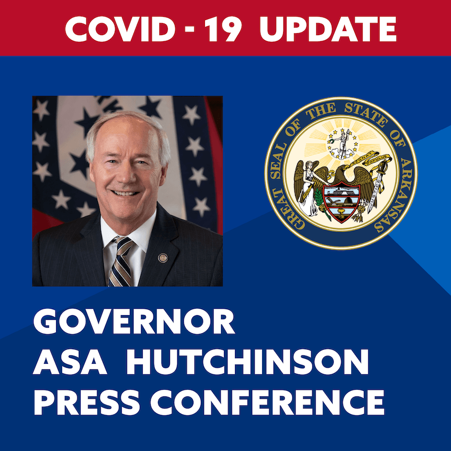 Governor Hutchinson Press Conference Update graphic