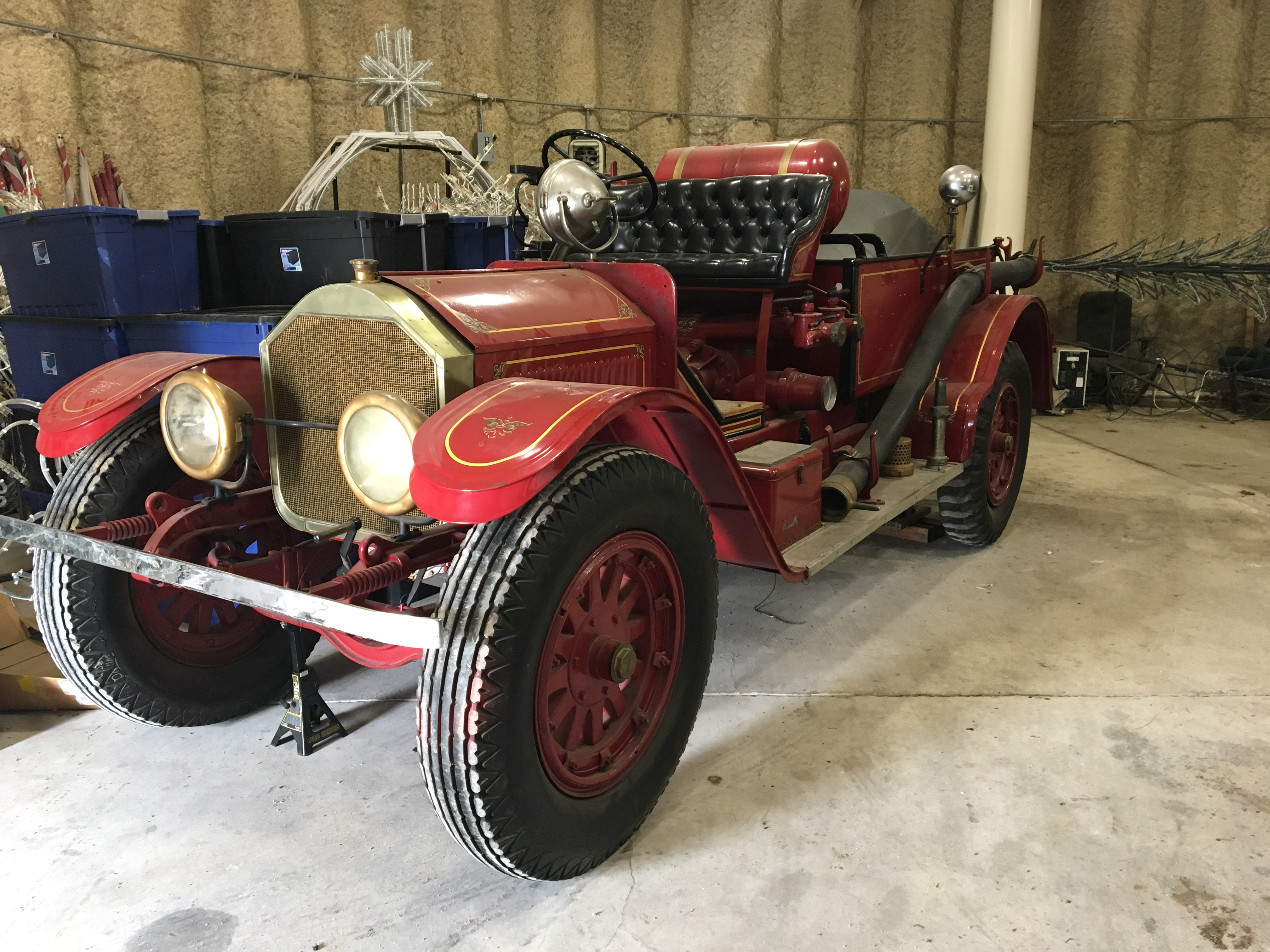 1921 American Lafrance fire engine